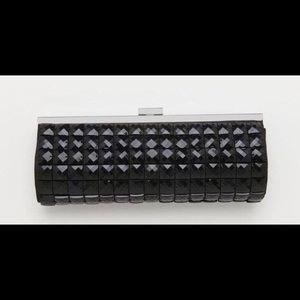 Black Gem Clutch / Shoulder Bag